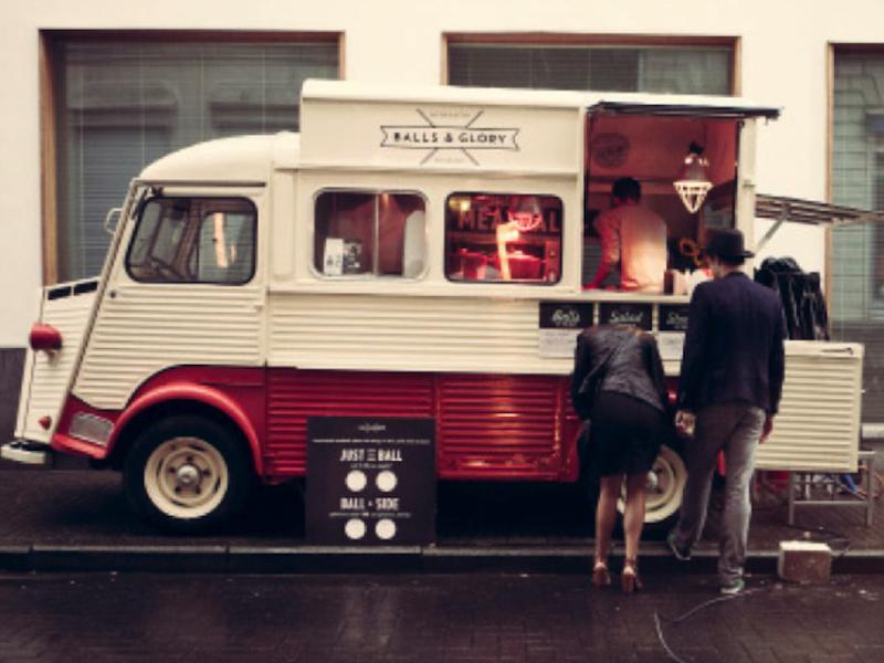 Kafé Kasserol - Gratis Food Truck Festival in Lier - Balls n Glory