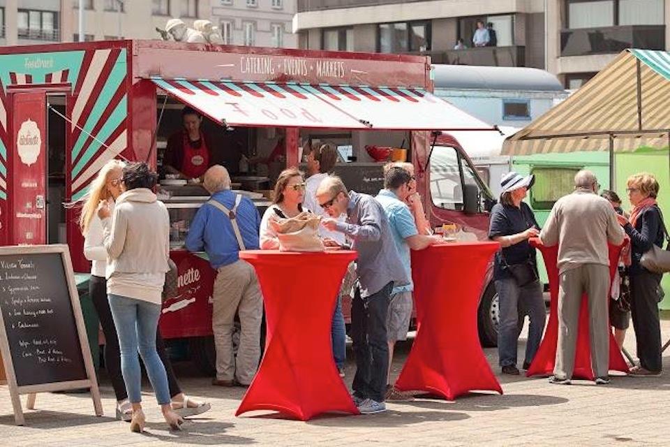 Kafé Kasserol - Gratis Food Truck Festival in Lier - La kitchenette samuse