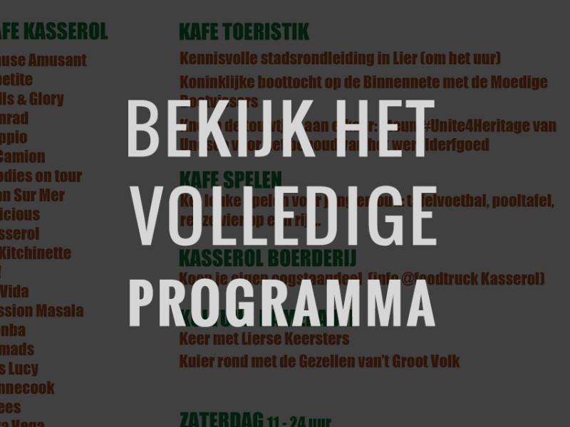 Programma-Kafé-Kasserol-foodtruckfestival-lier